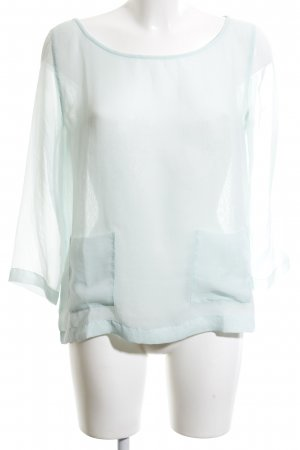 Club Monaco Long Sleeve Blouse turquoise business style