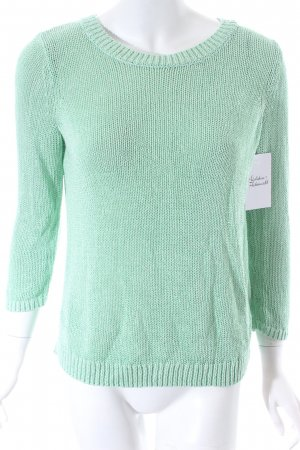 Club Monaco Knitted Sweater mint casual look