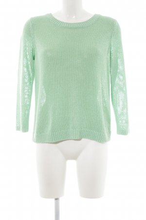 Club Monaco Knitted Sweater mint flecked casual look
