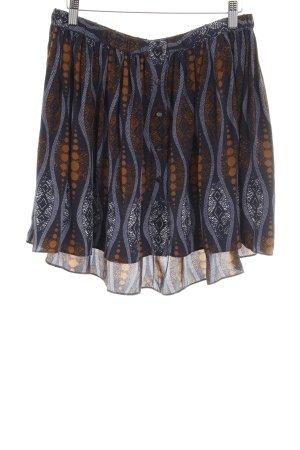 Club Monaco Circle Skirt graphic pattern Gypsy style