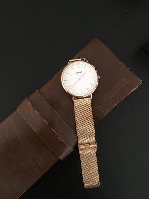 Cluse Orologio con cinturino di metallo oro-color oro rosa