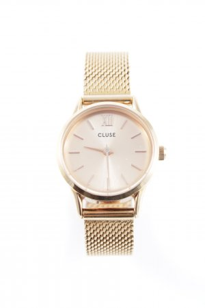 Cluse Analoguhr goldfarben Casual-Look