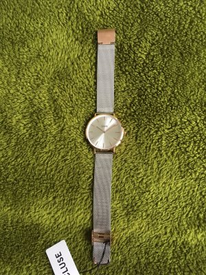 Cluse Watch With Metal Strap silver-colored-rose-gold-coloured