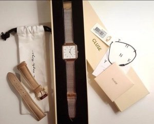 Cluse Analog Watch rose-gold-coloured