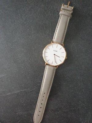 Cluse Digital Watch light grey-grey