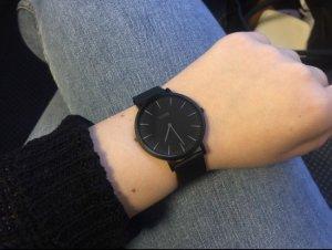 Cluse-Uhr 'La Bohème Mesh Full Black'