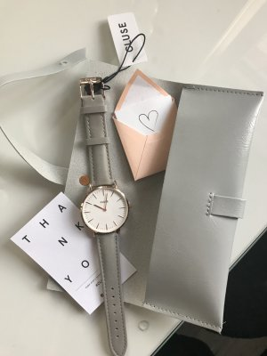 Cluse Uhr Minuit Rose Gold White/Grey