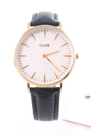 Cluse Uhr mit Lederarmband mehrfarbig Business-Look