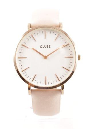 Cluse Uhr mit Lederarmband mehrfarbig Elegant