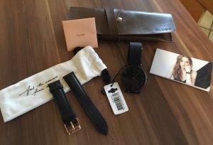 Cluse Uhr schwarz