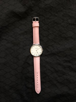 cluse Uhr Silver vs. pink