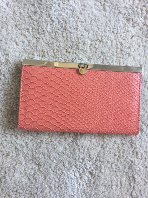 Accessorize Clutch abrikoos-zalm
