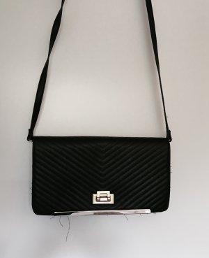 Clutch/ Abendtasche in Lederoptik mit goldenem Verschluss