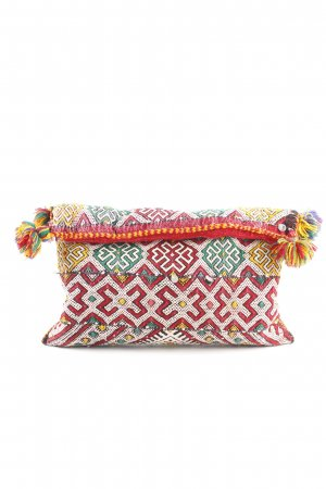 Clutch abstraktes Muster Casual-Look