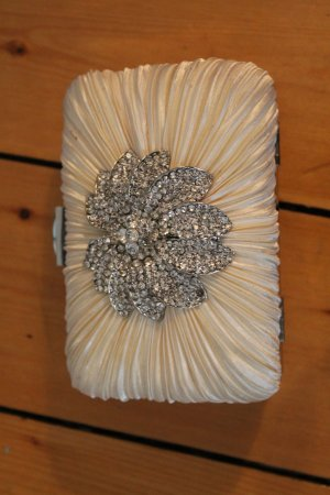 Clutch Accessoize Strass Satin Bag Party Ball Abi blogger
