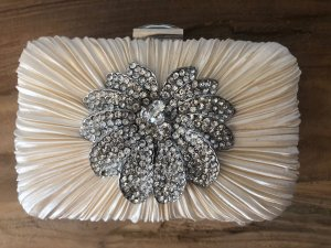 Accessorize Clutch wit-zilver