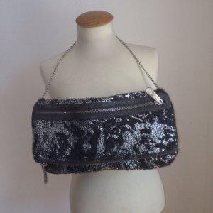 Clutch aus Wolle in Silbergrau von Stefanel