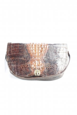 Clutch brown-dark brown animal pattern vintage products