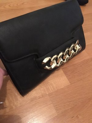 H&M Pochette noir-doré