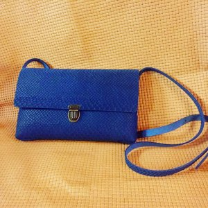 Clutch Damen Ledertasche