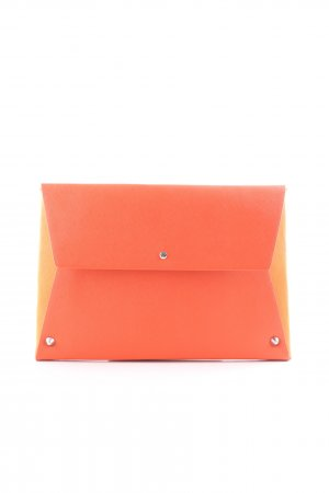 Clutch dunkelorange-hellorange Street-Fashion-Look