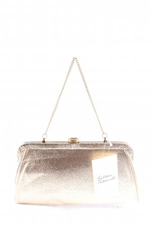 Clutch gold-colored party style
