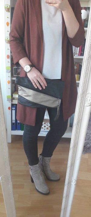 Clutch Handtasche Bommel Blogger Basic