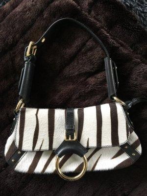 Clutch/Handtasche Dolce & Gabbana Leder/Zebrafell mit Zertifikat