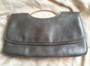 Clutch / Handtasche in grau, so gut wie neu
