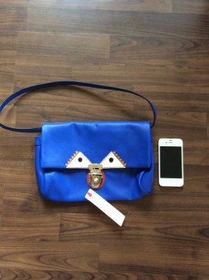 Clutch/ Handtasche von Esprit in blau