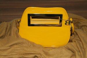 Clutch in Gelb mit Trageband von Bulaggi - ungetragen