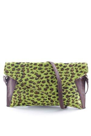Pochette motif léopard style extravagant