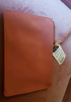 Hallhuber Borsa clutch color oro rosa