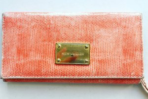 Clutch / Portemonnaie in neonpeach