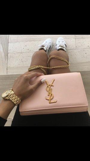 Clutch rosa gold Gliederkette fein