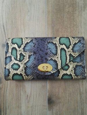 Clutch Schlangenmuster / Abendtasche / kleine Handtasche