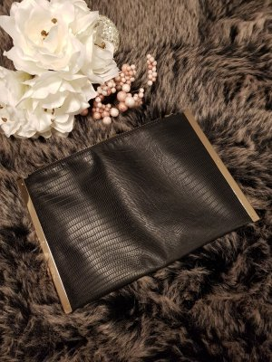 Atmosphere Clutch black-gold-colored