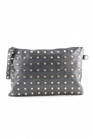 Clutch schwarz-goldfarben Party-Look