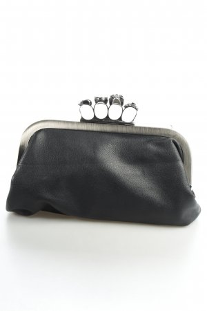 Clutch schwarz Gothic-Look