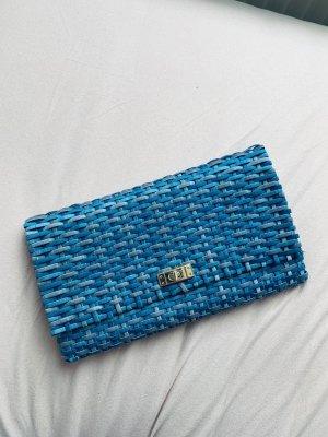 Clutch Tasche Strandtasche Urlaub Türkis
