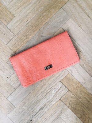 Clutch Tasche von H&M, orange