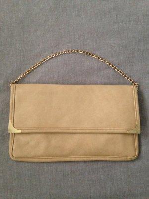 Clutch True Vintage beige/gold