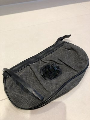 Belmondo Bolso de mano negro Imitación de cuero