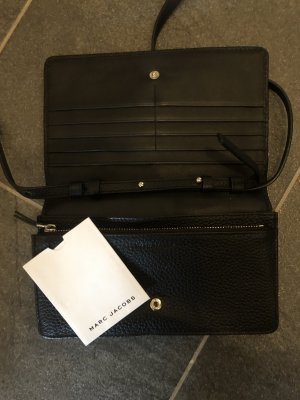 Marc Jacobs Clutch black-silver-colored