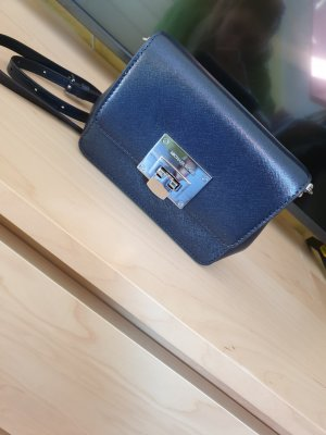 Clutch von Michael Kors in navy blau