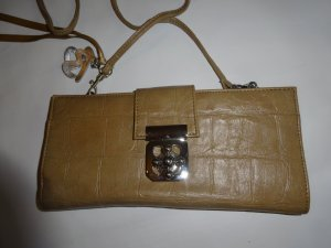 Betty Barclay Clutch zandig bruin Imitatie leer