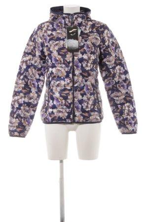 CMP Down Jacket dark violet floral pattern casual look