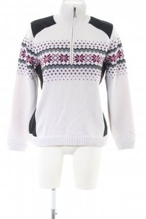 CMP Norwegian Sweater graphic pattern casual look