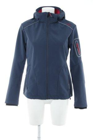 CMP Outdoorjacke dunkelblau-magenta sportlicher Stil