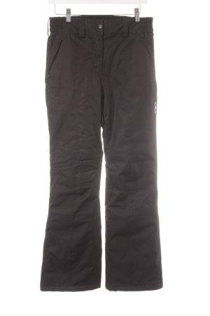 CMP Snow Pants black simple style